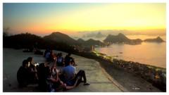 Por do sol em Niterói (o.dirce) Tags: pordosol poente niterói odirce dirce