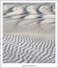 Rippled (David Harris ARPS) Tags: beach landscape river water broadhavensouth movement ripples photostyles coast pembrokeshire sand pembroke wales unitedkingdom