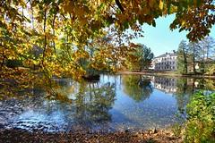 Autumn is wonderful (Tobi_2008) Tags: pond teich herbst autumn spiegelung reflection sachsen saxony deutschland germany allemagne germania