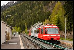 SNCF Mont Blanc Express, Chamonix-Mont-Blanc 29-04-2018 (Henk Zwoferink) Tags: chamonixmontblanc auvergnerhônealpes france sncf stadler 29042018 mont blanc express