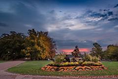 Parc de la Tête d'or, Lyon (Laetitia.p_lyon) Tags: fujifilmxt2 sunrise leverdusoleil parcdelatêtedor lyon statue centauresseetfaune sculpture augustincourtet