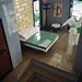 Artsand House MOC. Stairs to bedroom. (betweenbrickwalls) Tags: lego afol moc bed bedroom interior design interiordesign