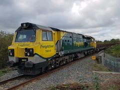 70015 6C31 (chriswarman) Tags: 70015 class70 betty 6c31 engineers train hinksey aylesbury vale parkway freight freightliner