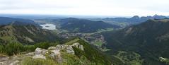 Schliersee-Panorama (bookhouse boy) Tags: brecherspitz 2019 schliersee spitzingsee 22september2019 berge mountains alpen alps ostgrat bayerischevoralpen