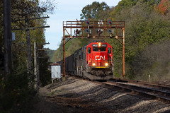 Branchton (Eric_Freas) Tags: canadian national cn 5422 bessemer lake erie ore train ble signals branchton pennsylvania pa