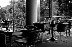 Table Settings (pjpink) Tags: vmfa virginiamuseumoffinearts virginiamuseum museum art rva richmond virginia may 2019 spring pjpink 2catswithcameras amuse restaurant blackandwhite bw monochrome uncolored colorless