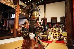 Tradition (Teruhide Tomori) Tags: 京都 伝統行事 日本 泉涌寺 即成院 二十五菩薩練供養 仮面 菩薩面 tradition kyoto mask festival event japan japon sokujohin temple sennyuji
