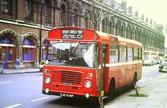 Slide 145-27 (Steve Guess) Tags: london stpancras station england gb uk bristol lh ecw transport buses routec11 kjd434p kings cross bl34