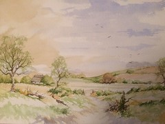 IMG_1396 (sgh476328) Tags: watercolour landscape trees sky painting
