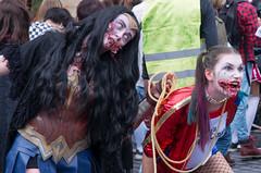 Zombie Walk_2019_BDX (99) (sapiens5) Tags: zombie walk 2019 bordeaux k5iis pentax 1685mm superhero heroine dcunivers wonderwoman harleyqueen