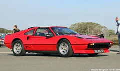 Ferrari 308 GTS Quattrovalvole 1985 (Wouter Bregman) Tags: dx855tg ferrari 308 gts quattrovalvole 1985 ferrari308gts qv ferrari308 red rood rouge automédon 2019 le bourget lebourget îledefrance 93 france frankrijk carshow meeting youngtimer old classic italian car auto automobile voiture ancienne italienne italie italia italy vehicle outdoor