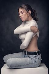 Marica (luca.onnis) Tags: lucaonnis photography portrait portraiture whiteshirt beautifulgirl