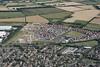 Godmanchester aerial image:  Romans Edge development & Godmanchester Bridge Academy
