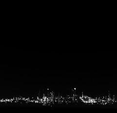 He visto la noche, Barrancabermeja_ (RoryO'Bryen) Tags: anabasis katabasis barrancabermeja fire oil water petróleo extracción blackness noche night terror ríomagdalena magdalenariver rivermagdalena viajeporelríomagdalena descent inferno kodaktrix rolleiflex28d longexposure mediumformat film copyrightroryobryen colombia colombie tora