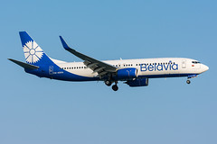 EW-455PA - Belavia - Boeing 737-8ZM(WL) (5B-DUS) Tags: ew455pa belavia boeing 7378zmwl lca lclk larnaca larnaka airport airplane aircraft aviation cyprus flughafen flugzeug planespotting plane spotting