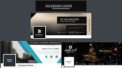 Social Media Cover template (DesignerEdge) Tags: web adds google facebook design graphic website flayer business card visiting fiverr professional letterhead resume cv premium luxury banner print ready files restaurant hotel food corporate real estate realestate new trendy year