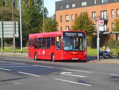 GAL SE58 - YX60FSO - ELTHAM ROAD YORKSHIRE GREY - SAT 19TH OCT 2019 (Bexleybus) Tags: goahead go ahead london tfl route eltham road green yorkshire grey roundabout mcdonalds b16 adl dennis enviro 200 se58 yx60fso