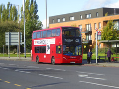 SLN 12282 - SN14TXA - ELTHAM ROAD YORKSHIRE GREY - SAT 19TH OCT 2019 (Bexleybus) Tags: stagecoach selkent london 122 tfl route eltham road green yorkshire grey roundabout mcdonalds adl dennis enviro 400 se9 12282 sn14txa