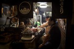 An evening out in Memory Lane (Tim&Elisa) Tags: japan yakitorialley memorylane 焼き鳥の路地 shinjuku 東京 tokyo canon urban city night lights food drinks izakaya happyplanet asiafavorites