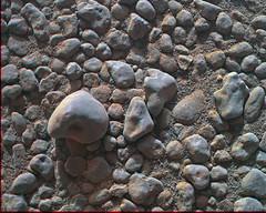 Curiosity MAHLI sol 2559 anaglyph (2di7 & titanio44) Tags: anaglyph msl rover curiosity nasa jpl caltech mahli