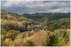 A good fit (Mark Gowing) Tags: class150 bargoedviaduct dmu southwalesvalley