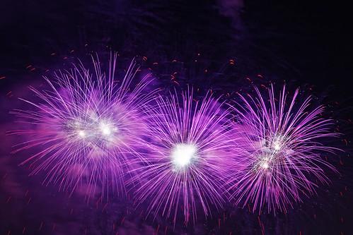 St Anna's day fireworks
