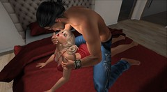 Hungry for you (antoniohunter55) Tags: signature gianni maitreya bento catwa secondlife sl romance desires domizia couple 30 re revox explorer watch e