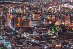 Kyoto at Night (Sunny Merindo Images) Tags: smerindo sunnymerindoimages street travel urban japan nippon city windows architecture buildings kyoto asia traffic streetlights cityscapes citylights housing metropolitan residencial