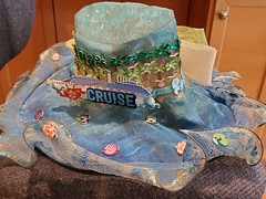 cruisehat-jill_ion-2019_21 (Jill_Ion) Tags: hat crafts painting decorating cruise cruisecats diy diva stepbystep stickers ribbons glitter
