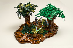 LEGO Order 66 on Kerkoidia - Dark Times RPG (CRCT Productions) Tags: lego starwars epic art darktimes moc legomoc rebellug 501st