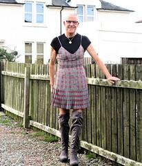 Photo of Pleated Slip Dress.