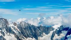 Vol au dessus du Mont-Blanc (musette thierry) Tags: montblanc chamonix chaînedemontagne montage paysage landscape landscaping laiguilledumidi vue superbe new été bleu neige hélicoptère vol musette d800 nikon nikkor 28300mm france hautesavoie