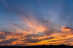 Sunset / @ 28 mm / 2019-10-20 (astrofreak81) Tags: explore clouds shadow schatten sunset sun wolken sonnenuntergang sonne sky himmel heaven light dawn orangesky orange dresden 20191020 astrofreak81 sylviomüller sylvio müller