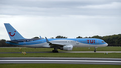 TUI Airways - Boeing 757 (G-BYAW) (Matthew Garner) Tags: manchesterairport aviation aircraft planes flying egcc ringway airport southside boeing airbus travel nikon d7500 nikond7500 manchester avgeek transport gbyaw b757 boeing757 757 tui