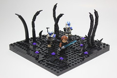 LEGO Star Wars Battle on Umbara MOC (The Real Legoman Productions) Tags: lego legostarwars legostarwarsmoc legoumbara umbara starwars starwarsmoc 501
