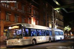 Heuliez Bus GX 427 BHNS – Tisséo n°1462 (Semvatac) Tags: semvatac photo bus tramway métro transport transports heuliez gx 427 bhns tisséo linéo l 9 l9 l'union grande halle arrêt jeanne d'arc place jeanned'arc grandehalle heuliezbus gx427bhns 1462 de575cn