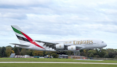 Emirates - Airbus A380 (A6-EEI) (Matthew Garner) Tags: manchesterairport aviation aircraft planes flying egcc ringway airport southside boeing airbus travel nikon d7500 nikond7500 manchester avgeek transport a6eei a380 airbusa380 emirates