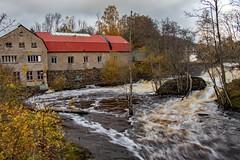 Vattenfall (gunilla.hjerne) Tags: vatten uddevalla vattenfall forsande