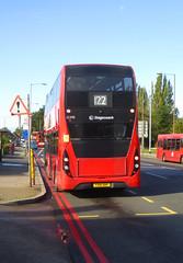 SLN 12398 - YX16OHP - ELTHAM ROAD YORKSHIRE GREY - SAT 19TH OCT 2019 (Bexleybus) Tags: stagecoach selkent london 122 tfl route eltham road green yorkshire grey roundabout mcdonalds adl dennis enviro 400 mmc se9 12398 yx16ohp