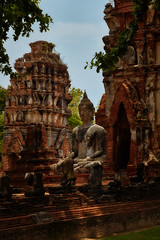 Ayutthaya – Wat Maha That (Thomas Mulchi) Tags: ramapublicpark ayutthayahistoricalpark phranakhonsiayutthayadistrict thailand 2019 wat buddhism buddhisttemple temple pagoda buddha phranakhonsiayutthaya happyplanet asiafavorites