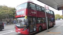 P1180272 BDE2642 LJ19 CVS at Angel Station Upper Street Islington London (LJ61 GXN (was LK60 HPJ)) Tags: electric metroline byd enviro400city enviro400ev enviro400evcity e400ev city 109m 10900mm k8sr bde2642 lj19cvs j42817