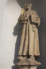 IMGP4016 (hlavaty85) Tags: kostel church praha prague svatý františek francis assisi saint statue socha