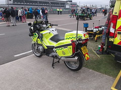 Photo of West Midlands Ambulance Service BMW R1200RT (LD63 XVO)