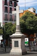 Cruz de Puerta Cerrada (fernand0) Tags: madrid spain cruz cross puerta cerrada