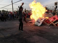 Conchalí. Chile. No más abuso. (BastianAlejandro) Tags: conchali chile protesta nomasabusos enojo tristeza familia fuego