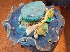 cruisehat-jill_ion-2019_17 (Jill_Ion) Tags: hat crafts painting decorating cruise cruisecats diy diva stepbystep stickers ribbons glitter