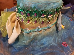 cruisehat-jill_ion-2019_15 (Jill_Ion) Tags: hat crafts painting decorating cruise cruisecats diy diva stepbystep stickers ribbons glitter