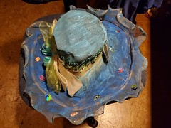 cruisehat-jill_ion-2019_13 (Jill_Ion) Tags: hat crafts painting decorating cruise cruisecats diy diva stepbystep stickers ribbons glitter