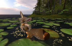 Fennec_Mesh_One_Piece 5 (Corgi-boobs) Tags: furry secondlife fennec fox onepieceswimsuit swimsuit