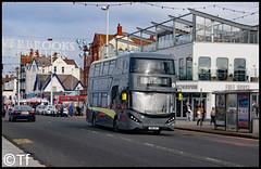 Blackpool Transport - SN16 OVF (Tf91) Tags: blackpool blackpooltransport alexander dennis enviro 400h city pleasurebeach sn16ovf promenade